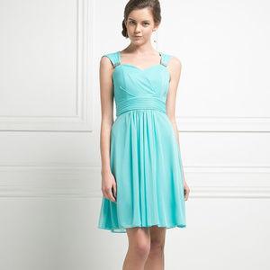 Chiffon Evening Short Dress CD3832